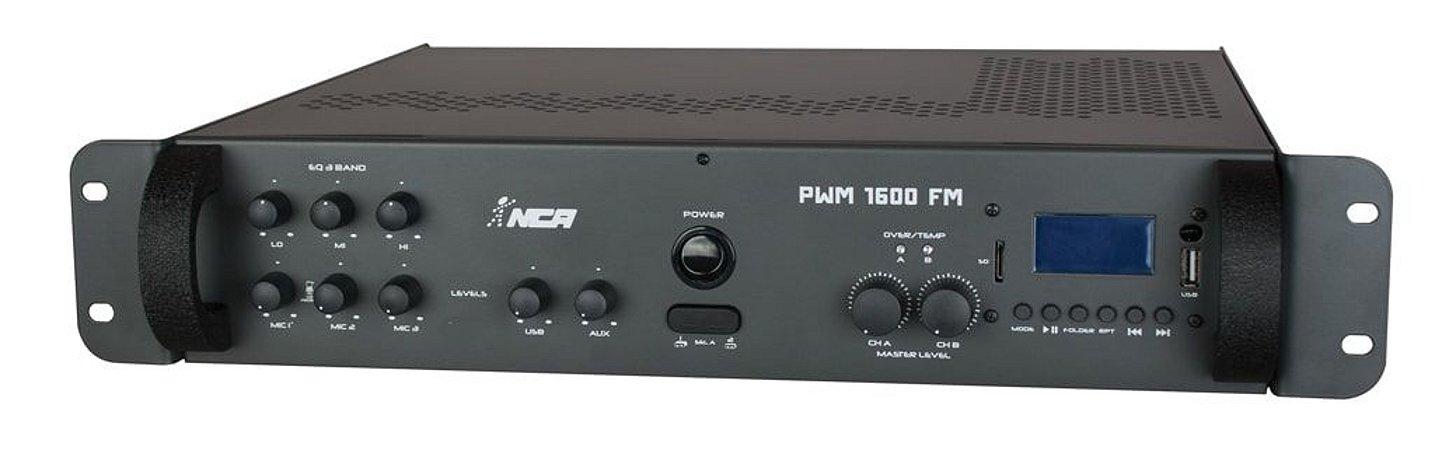 Amplificador NCA PWM 1600 FM
