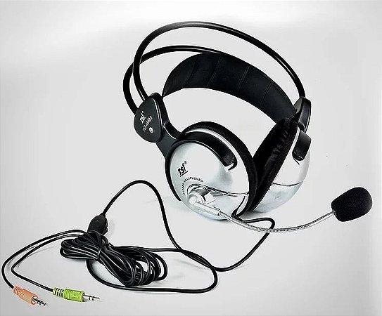 Fone de Ouvido / Headset Over-ear com Microfone 466 M - TSI