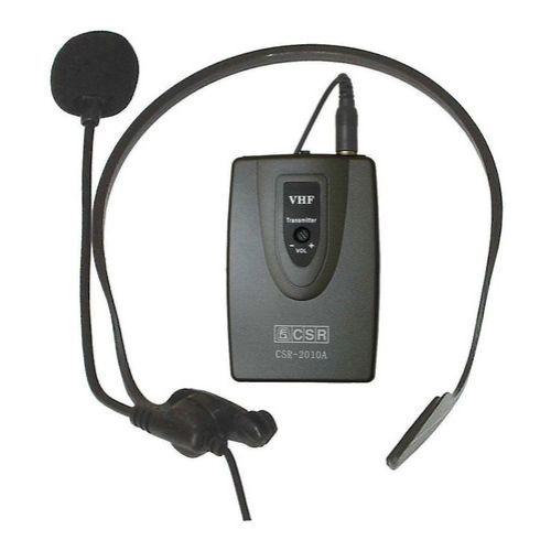 Microfone Sem Fio Headset CSR Para Câmeras Modelo 2010A