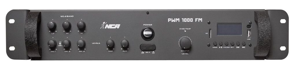 Amplificador Potência Nca Pwm 1000 Fm 250w RMS