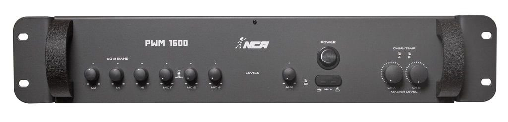 Amplificador  PWM 1600 NCA 4 Ohms