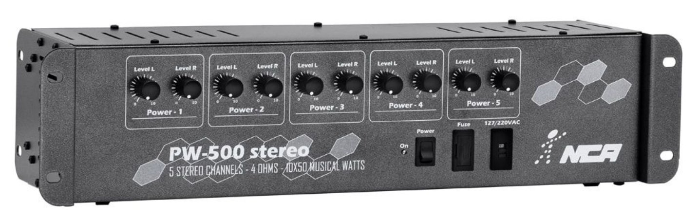 Amplificador PW 500 ST NCA