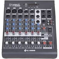 Mesa De Som LL Áudio Starmix XMS 602R USB Analógica