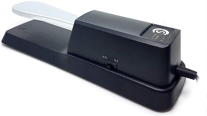 Pedal De Sustain Para Teclado Custom Sound CPS 10 Preto