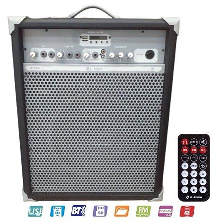 Caixa Acústica Multiuso LL AUDIO Color UP 10 Bluetooth Preta