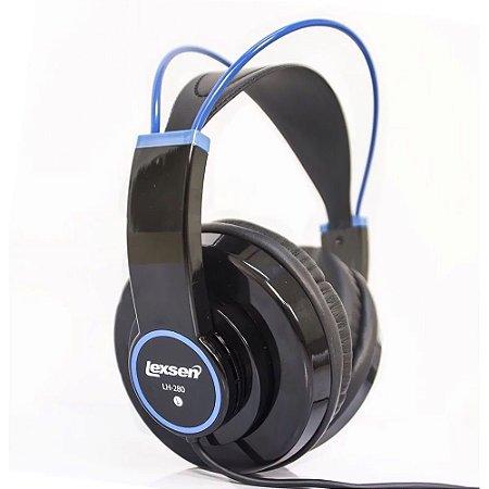 Fone De Ouvido Lexsen 50mm LH280 BL Headphone