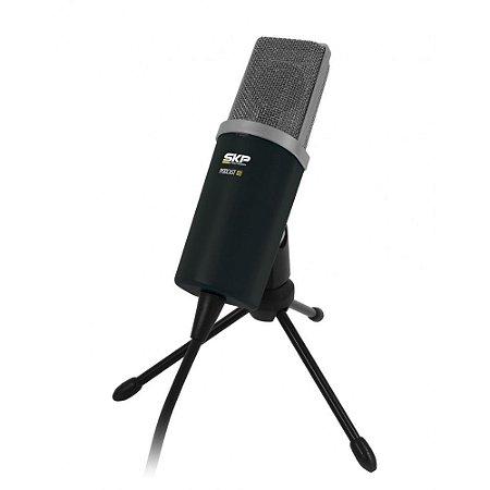 Microfone Condensador Profissional Skp Podcast 100 Pc