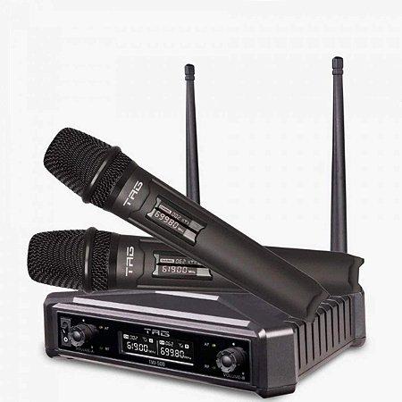 Microfone Sem Fio Duplo Tag Tmj 500 Tagima Tagsound UHF