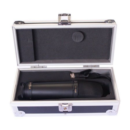 Microfone c/Fio Condensador CM H2D - SUPERLUX
