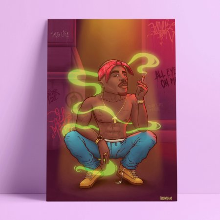 SMOKE LIFE - Pôster A4