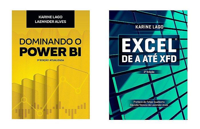 Combo Livros Dominando o Power BI 3ed + Excel de A até XFD 2ed