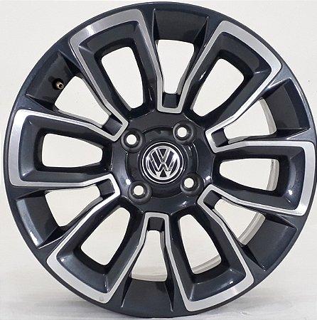 JOGO DE RODA ARO 15 VW  - KRMAI  R75 TALA 6 4 X 100 ET 36