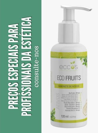 SABONETE DE ÁCIDOS ECO FRUITS 120ml