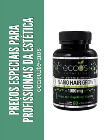 NANO HAIR GROWTH 1000mg 60 cápsulas