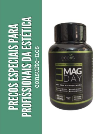 Mag Day Ecco's - Biomodulador Celular (60 cápsulas)