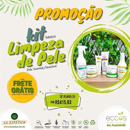 KIT PROFISSIONAL DE LIMPEZA DE PELE – BÁSICO (PELE NORMAL/SENSÍVEL)