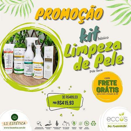 KIT PROFISSIONAL DE LIMPEZA DE PELE – BÁSICO (PELE SECA)