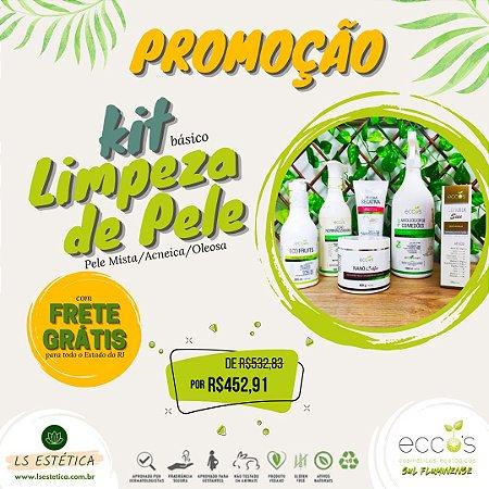 KIT PROFISSIONAL DE LIMPEZA DE PELE – BÁSICO (PELE MISTA/ACNEICA /OLEOSA)