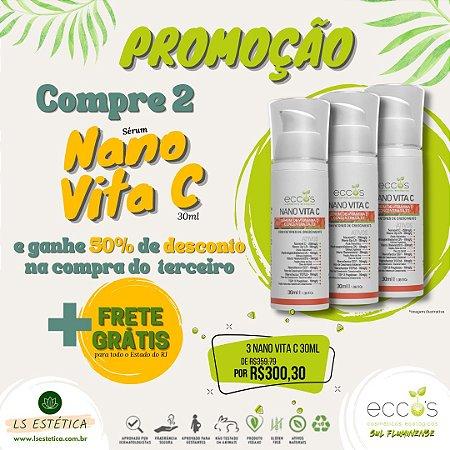 3 Nano Vita C 30ml - Promoção Leve Mais Pague Menos