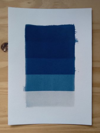 Paleta Azul da Prússia