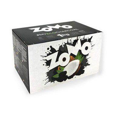 Carvão para Narguilé de Cocô 1kg Zomo