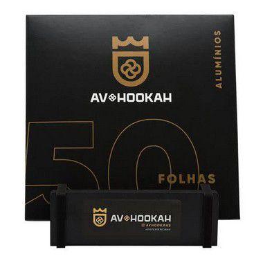 Papel Aluminio 50 Folhas Av Hookah