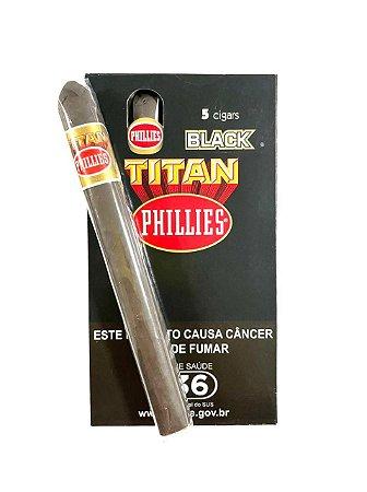 Charuto Phillies Titan Brack c/5 Unid