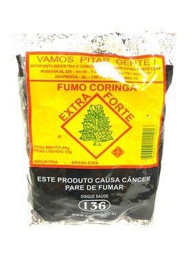 Fumo Desfiado Extra Forte Pct 40g