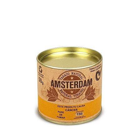 Tabaco para Cachimbo Amsterdam Lata 50g