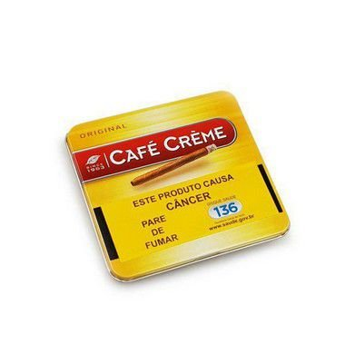 Cigarrilha Café Creme Original - Lt 10 Un