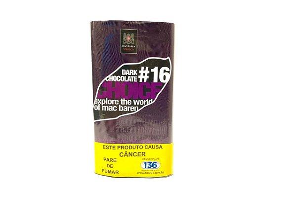 Tabaco para Cigarro #16 Dark Chocolate Choice 30g Mac Baren