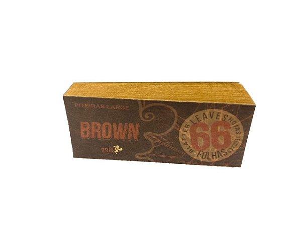 Piteira de Papel Bros 66 Brown Large
