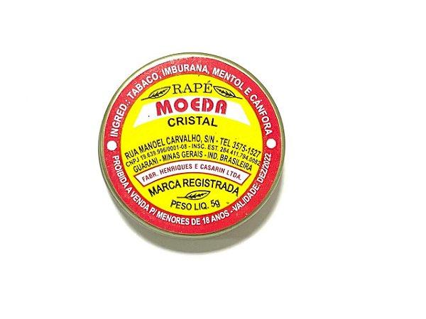 Rapé Moeda Cristal - Lata 5g