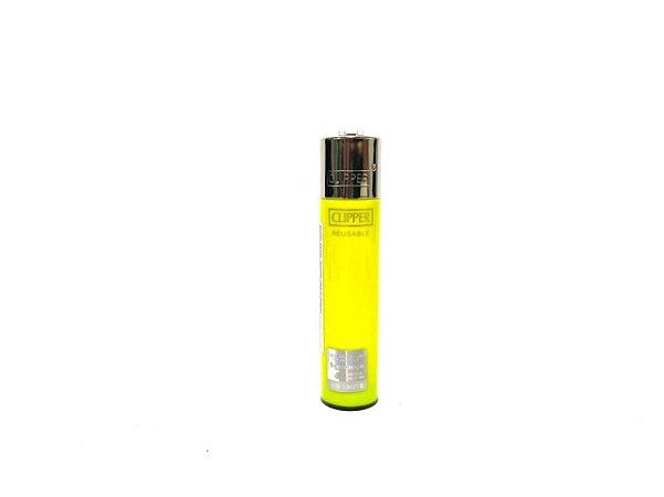 Isqueiro Clipper Grande - Amarelo
