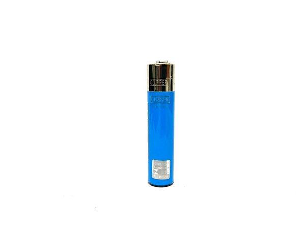Isqueiro Clipper Grande - Azul Claro
