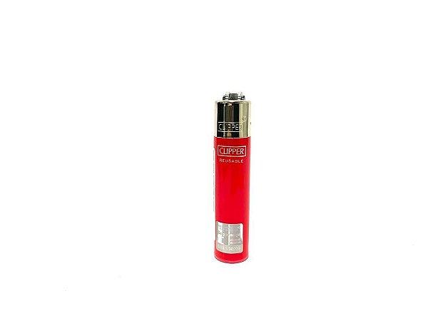 Isqueiro Clipper Mini - Vermelho