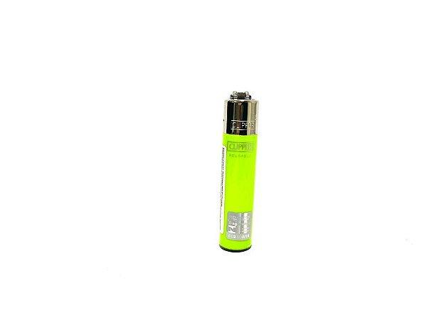 Isqueiro Clipper Mini - Verde Limão