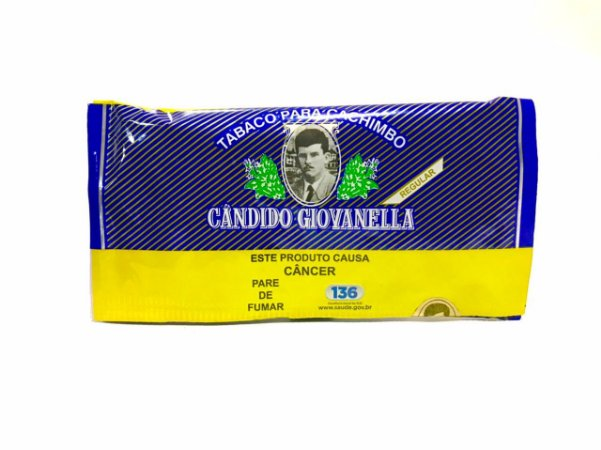 Tabaco para Cachimbo Candido Giovanella 45g - Regular