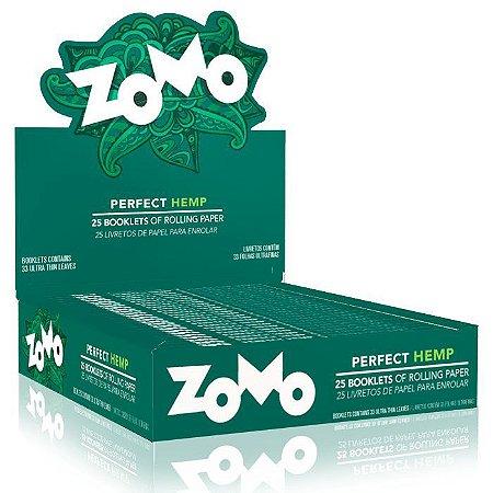 Seda Zomo Paper Perfect Hemp  King Size Cx 25 Livretos