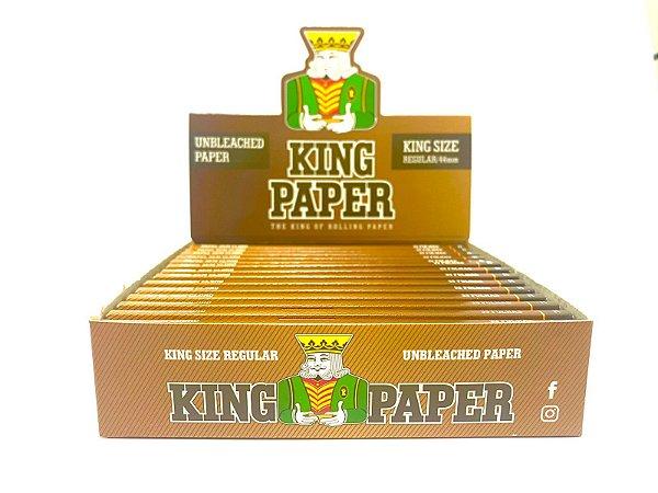 Seda King Paper Brown King Size cx 20 Livretos