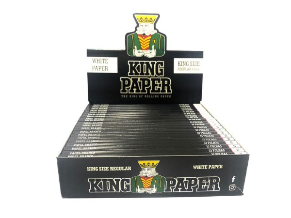 Seda King Paper White King Size cx 20 Livretos