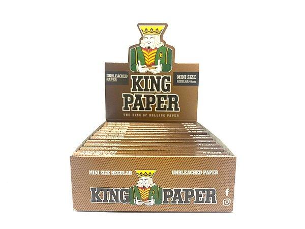 Seda King Paper Brown Mini Size cx 20 Livretos