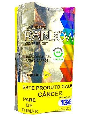 Tabaco para Cigarro Rainbow Silver Bright Pct 25g
