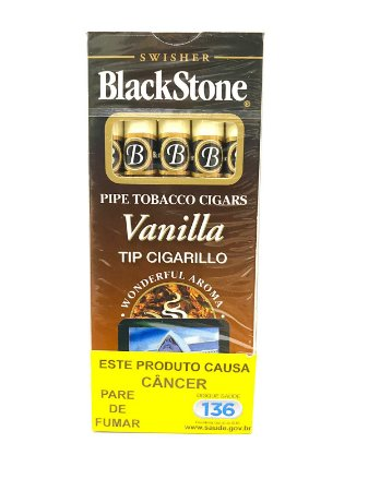 Cigarrilha Blackstone Baunilha - Cx 5 Un