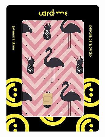 Card.me -  Flamingos