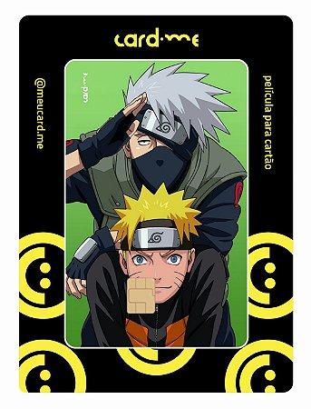 Naruto e Kakashi - Card.me