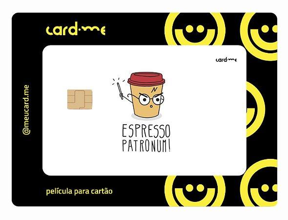 Espresso Patronum - Card.me - Harry potter