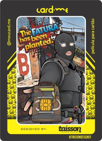 Terrorist CS - Card.me - Counter Strike