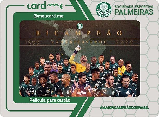 Card.me OFICIAL -PALMEIRAS - CAMPEÃO DA LIBERTADORES