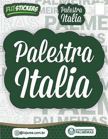 Cartela de 2 adesivos Palestra Itália - Palmeiras